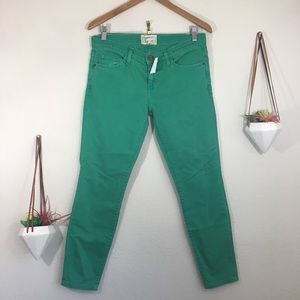 NWT Current / Elliott faded alpine stiletto jeans